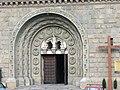 Portal in Cathedral of St Nicholas, Bielsko-Biała.jpg