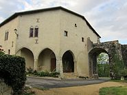 Porte interieur chateau Preny