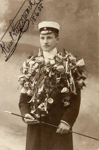 Knut Lundmark - Knut Lundmark as student in 1908