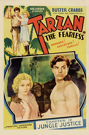 Description de l'image Poster - Tarzan the Fearless 01.jpg.