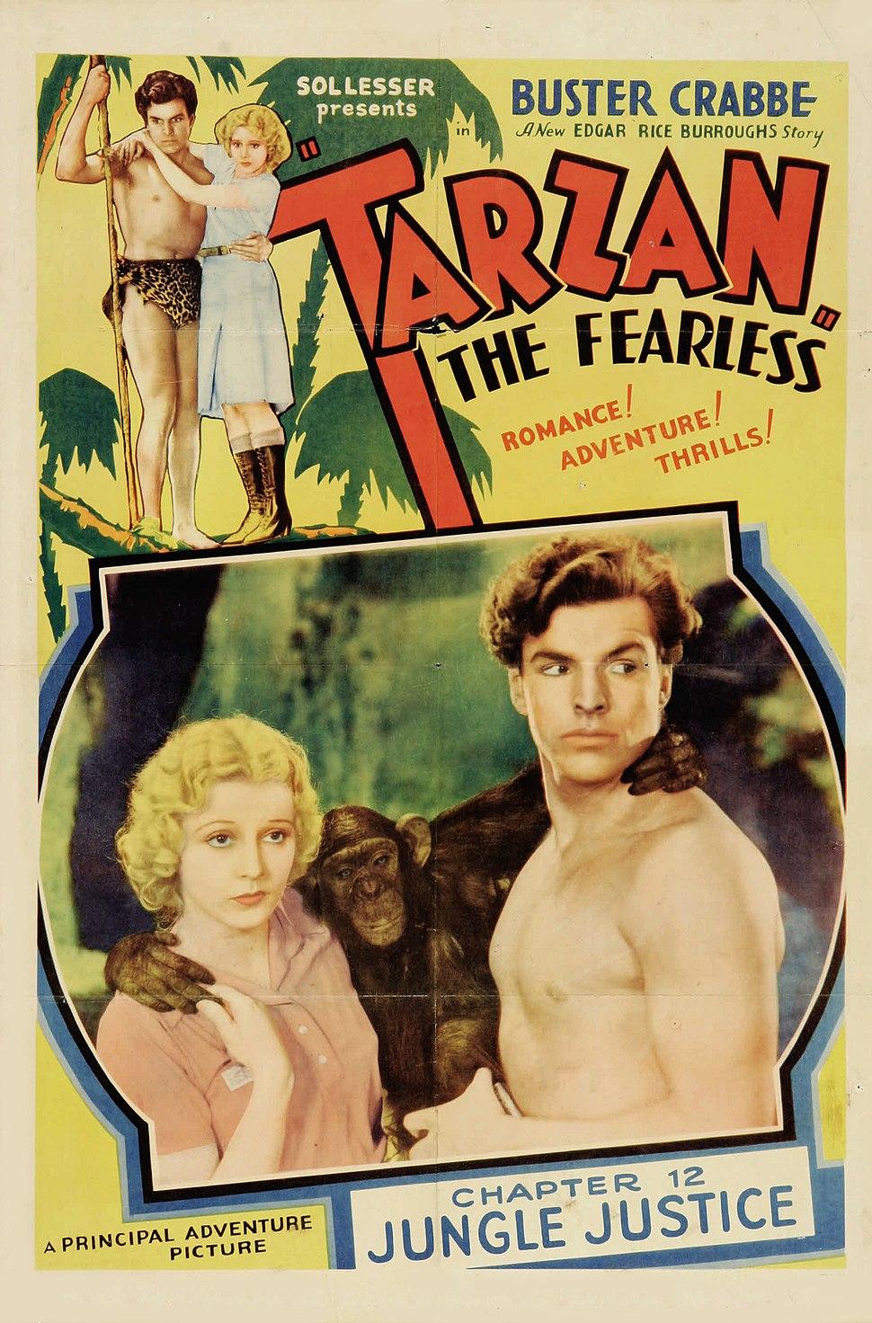 Poster - Tarzan the Fearless 01
