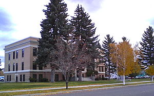 Powell County Courthouse, Deer Lodge, Montana