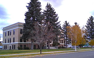 Powell County, Montana - Image: Powell County Courthouse 05