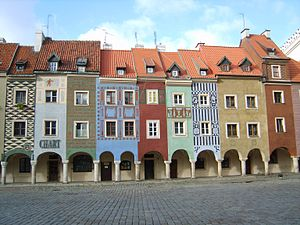 Stare Miasto, Poznań - 16th-century merchant houses on Poznań's Old Market Square