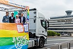 Präsentation Paradetruck Jugend gegen AIDS zur ColognePride 2018 am Köln Bonn Airport-7247.jpg