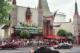 Premiere - Film premiere for Flatliners, Grauman's Chinese Theatre, Hollywood, 1990