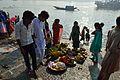 Preparation - Chhath Puja Ceremony - Ramkrishnapur Ghat - Howrah 2013-11-09 4106.JPG