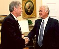 President Bill Clinton and Congressman Bill Young.jpg