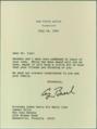 President George H. W. Bush condolences on Mujaddid Ijaz's death, 1992.png