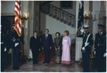 President and Mrs. Nixon with President of the Council of State of the Socialist Republic of Romania and Mrs.... - NARA - 194560.tif