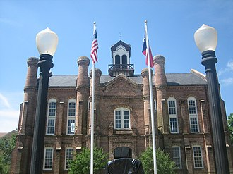 Shelby County, Texas - Image: Previous courthouse in Shelby County, TX IMG 0957