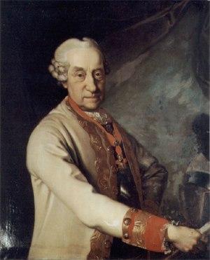 Prince Joseph of Saxe-Hildburghausen - Portrait by Johann Valentin Tischbein