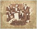 Prof. Fraser, Rev. Welsh, Rev. Hamilton, and Three Other Men MET DP142475.jpg