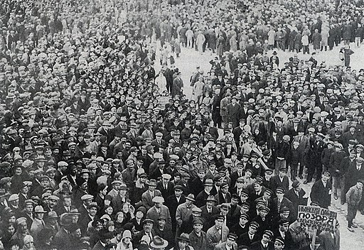 Protests against Treaty of Neuilly-sur-Seine 1929