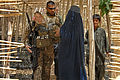 Provincial Reconstruction Team Zabul, Afghan women meet 110722-F-WB609-088.jpg