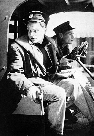 The Public Enemy - James Cagney and Edward Woods in The Public Enemy