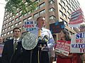 Public Advocate Bill de Blasio announces legal updates at L.I.C.H. 8.30.13 (9631690434).jpg