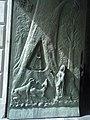 Puerta Monumental de Bronce, en la Basílica de Nuestra Señora del Roble, en Monterrey Nuevo León, México, escultor Arq. José Carlos Ituarte González.jpg
