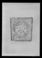 Pukfana - täcke med Närkes sköldemärke - Livrustkammaren - 60331.tif