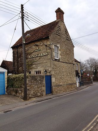 Wheatley, Oxfordshire - The Kings Arms pub in Wheatley