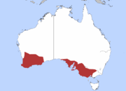 Coastal south and south-western Australia