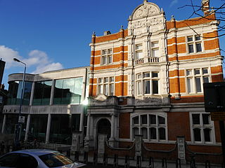 Putney Library library in Putney, London