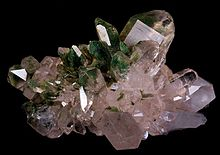 large quartz crystals found in the Mont Blanc massif