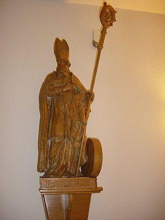 Quirinus of Sescia - Statue in Halsteren, Netherlands
