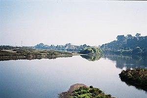 Maipo River - Image: Río Maipo