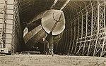 R100 Airship in its hangar at Howden Aerodrome 1933 (archive ref DDX1017-1) (25733036770).jpg