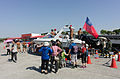 ROCMC M8 Motor Boat Display at Ground with Visitors 20141123.jpg