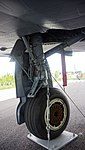 ROKAF F-4E(80-514) left main landing gear at Jeju Aerospace Museum June 6, 2014 01.jpg