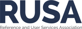 Reference and User Services Association awards - Image: RUSA Logo Navy 500x 175