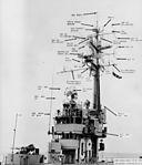 Radar arrangement aboard USS Kula Gulf (CVE-108) in 1955.jpg