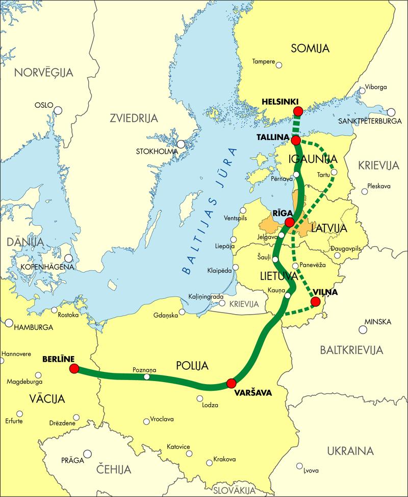 Козни против России не удались: у прибалтов нет денег на Rail Baltica