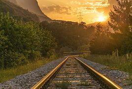 Railway in Slovenski Javornik 2013.jpg
