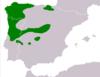 Rana iberica range Map.png