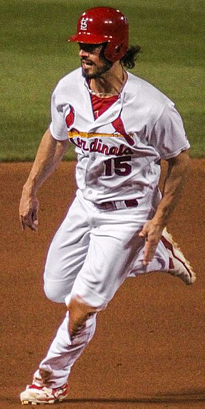 Randal Grichuk - Grichuk with the St. Louis Cardinals in 2016