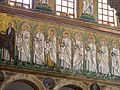 Ravenna Basilica of Sant'Apollinare Nuovo mosaic.jpg