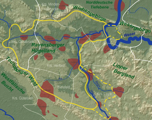 Ravensberg Basin - The Ravensberg Hills - heart and outer areas