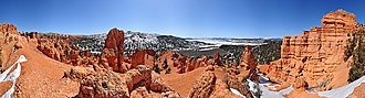 Dixie National Forest - Image: Red Canyon Utah Winter 360 pano