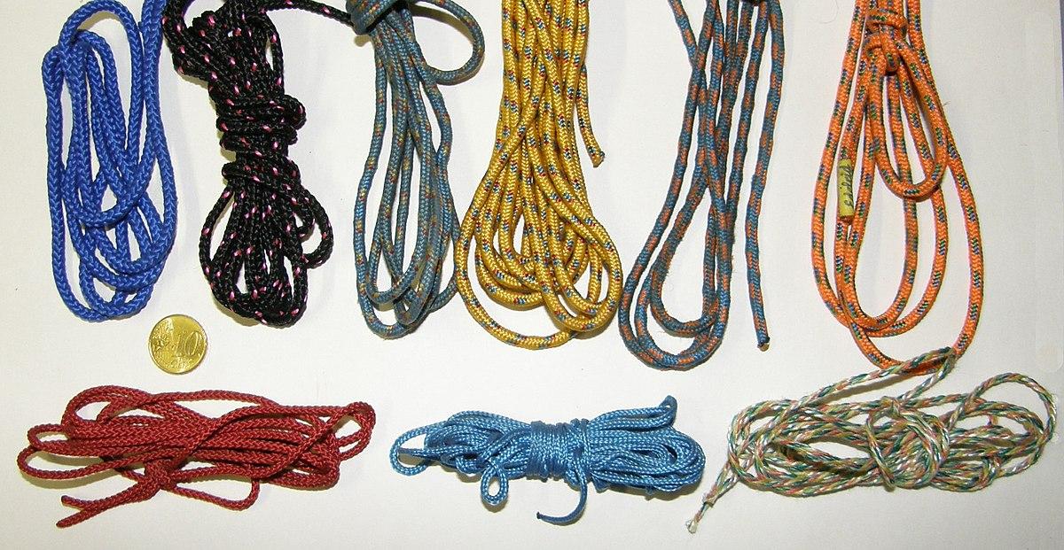 Kletterausrüstung Sicherung : Reepschnur u2013 wikipedia