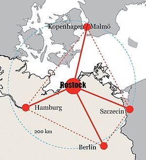 Regiopolis - Location of the Rostock Regiopolis