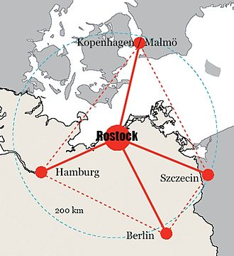 Regiopolis - Location of the Rostock Regiopolis