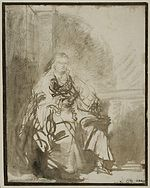 Rembrandt Seated Woman with a Rolled-up Letter.jpg