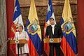 Reunión con la prensa entre la Presidenta Michelle Bachelet Y El Presidente Rafael Correa (14178789962).jpg