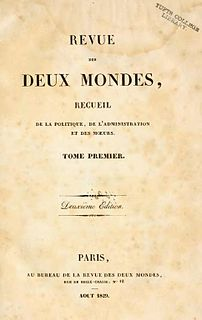 <i>Revue des deux Mondes</i> French periodical