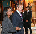 Rice with Sergey Lavrov - Moscow 2007.jpg