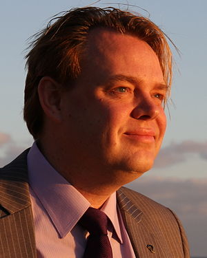 Pirate Party of Sweden - Rickard Falkvinge, founder and party leader from 2006 to 2011
