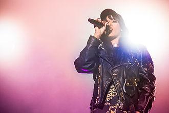 Talk That Talk - Rihanna performing during Kollen Music Festival in June 2012
